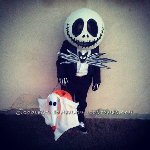 The Coolest Jack Skellington and Zero Costume