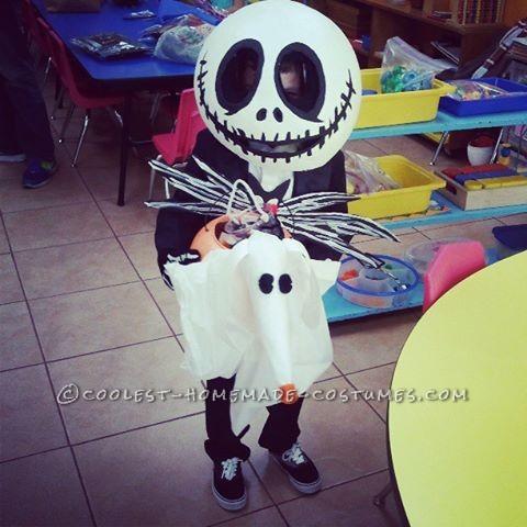 The Coolest Jack Skellington and Zero Costume - 1