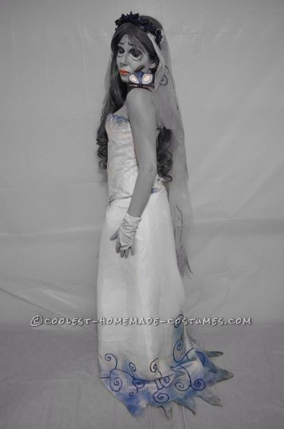 The Corpse Bride Couple Costume: Emily and Victor Van Dort - 6