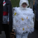 The Cutest Chicken in Town Toddler Halloween Costume