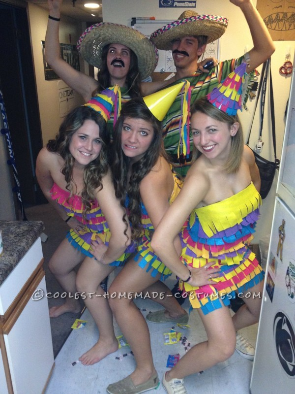 The Cutest Party Pinatas Girl Group Costume