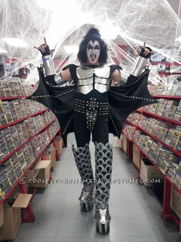 Awesome Demon from KISS Halloween Costume