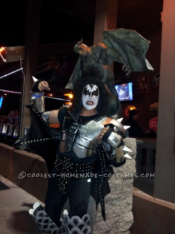 Awesome Demon from KISS Halloween Costume - 2