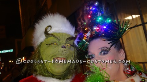 Cool Grinch and Martha May Couple Costume