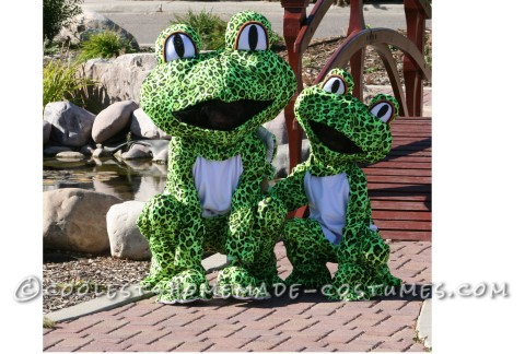 Grooviest Homemade Leopard Frog Costumes