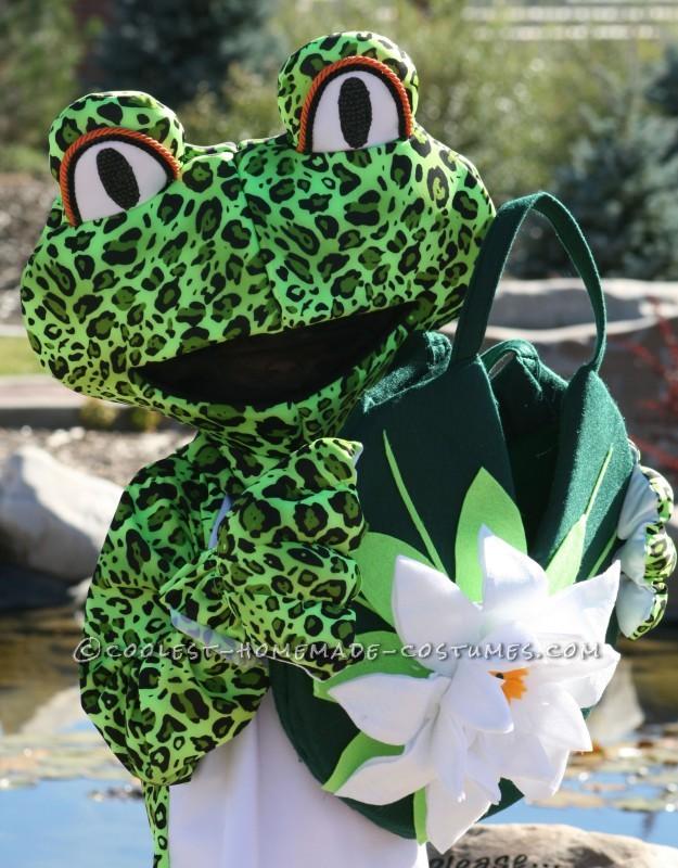 Grooviest Homemade Leopard Frog Costumes - 1