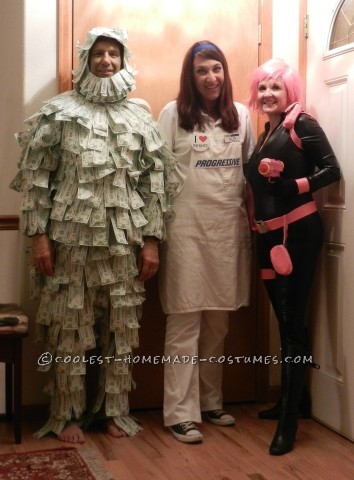 The Insurance Superheroes Group Halloween Costume