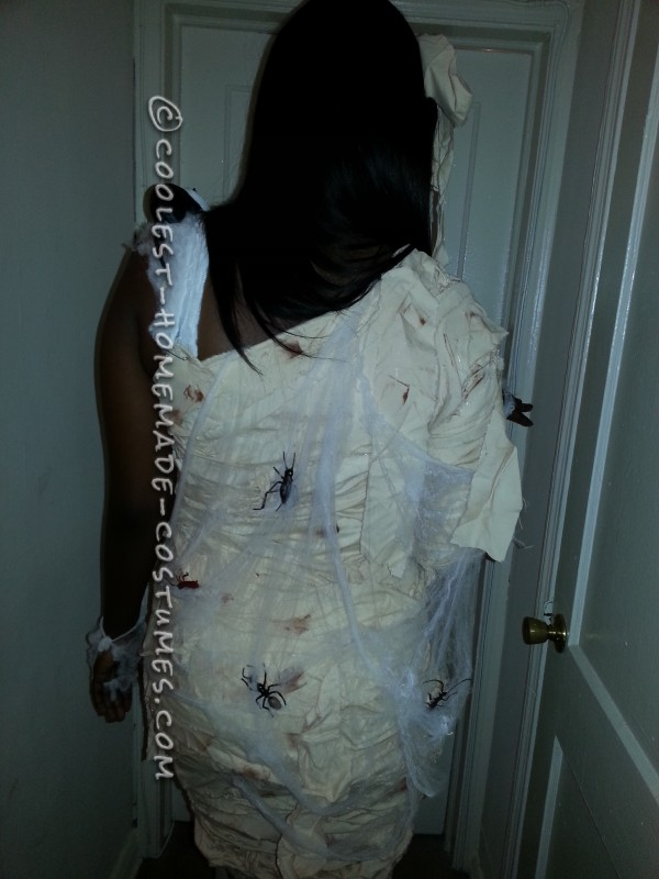 Sexy Homemade Mummy Costume