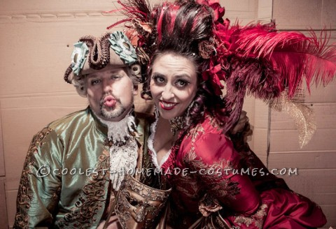 The Original 1% - Rococo Masquerade Couple Costume