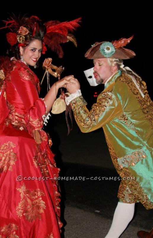 The Original 1% – Rococo Masquerade Couple Costume - 2