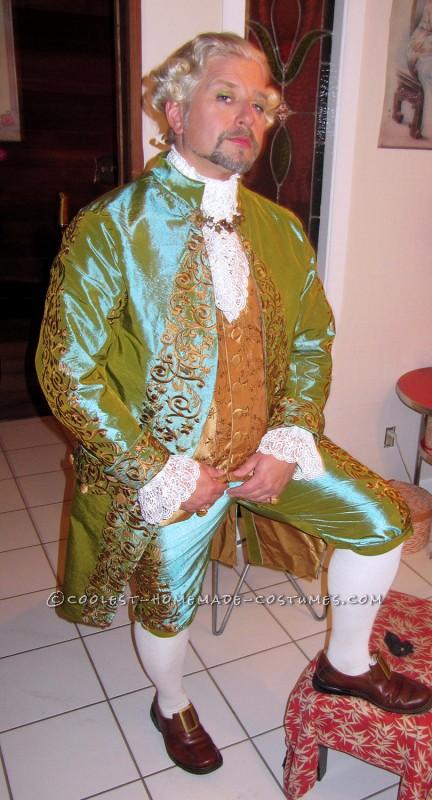 The Original 1% – Rococo Masquerade Couple Costume - 4