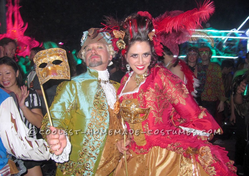 The Original 1% – Rococo Masquerade Couple Costume - 7