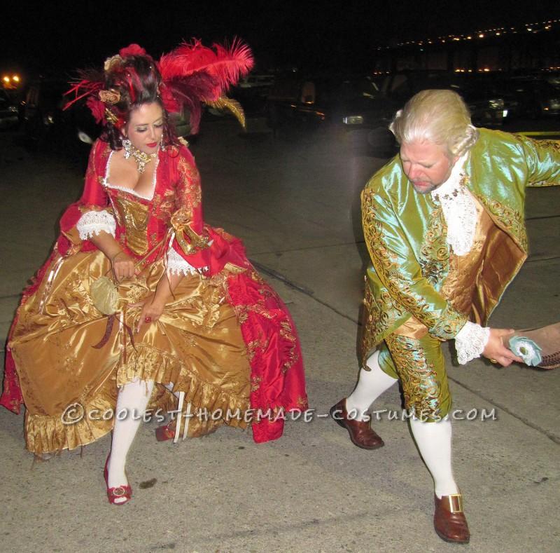 The Original 1% – Rococo Masquerade Couple Costume - 8