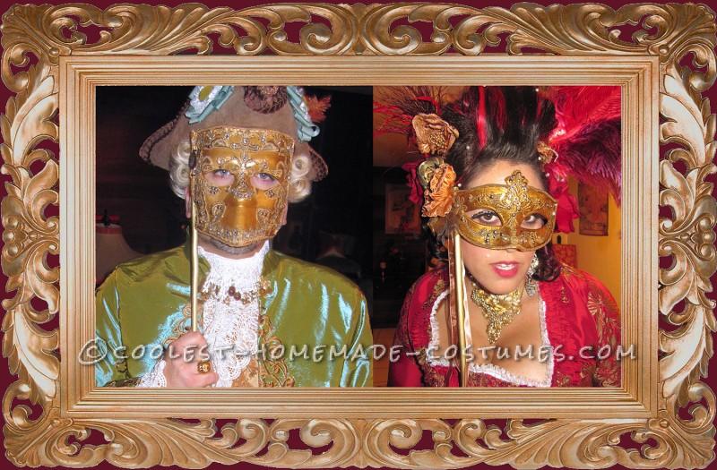 The Original 1% - Rococo Masquerade Couple Costume