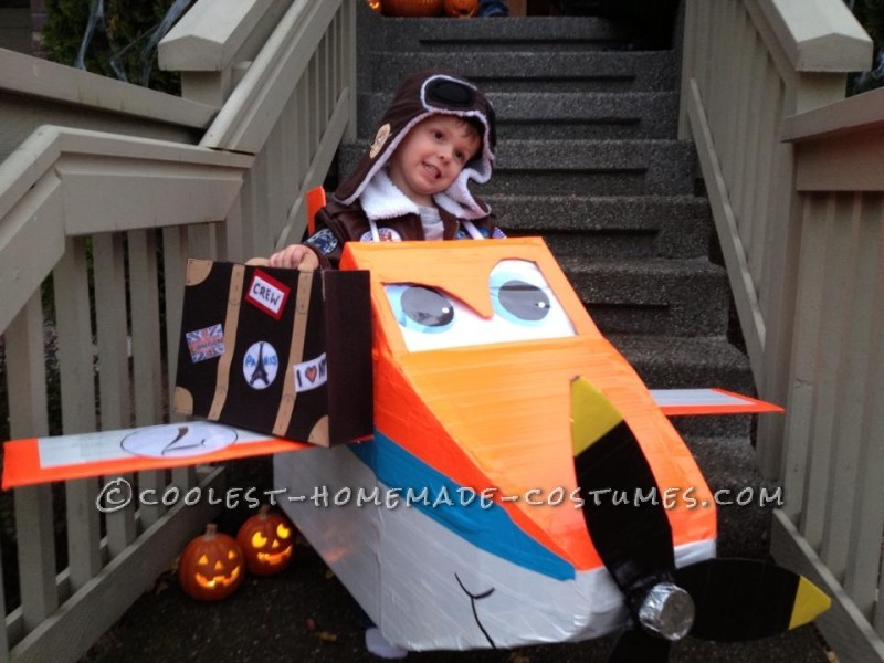 The Perfect Costume for a Boy - Plane and Simple!