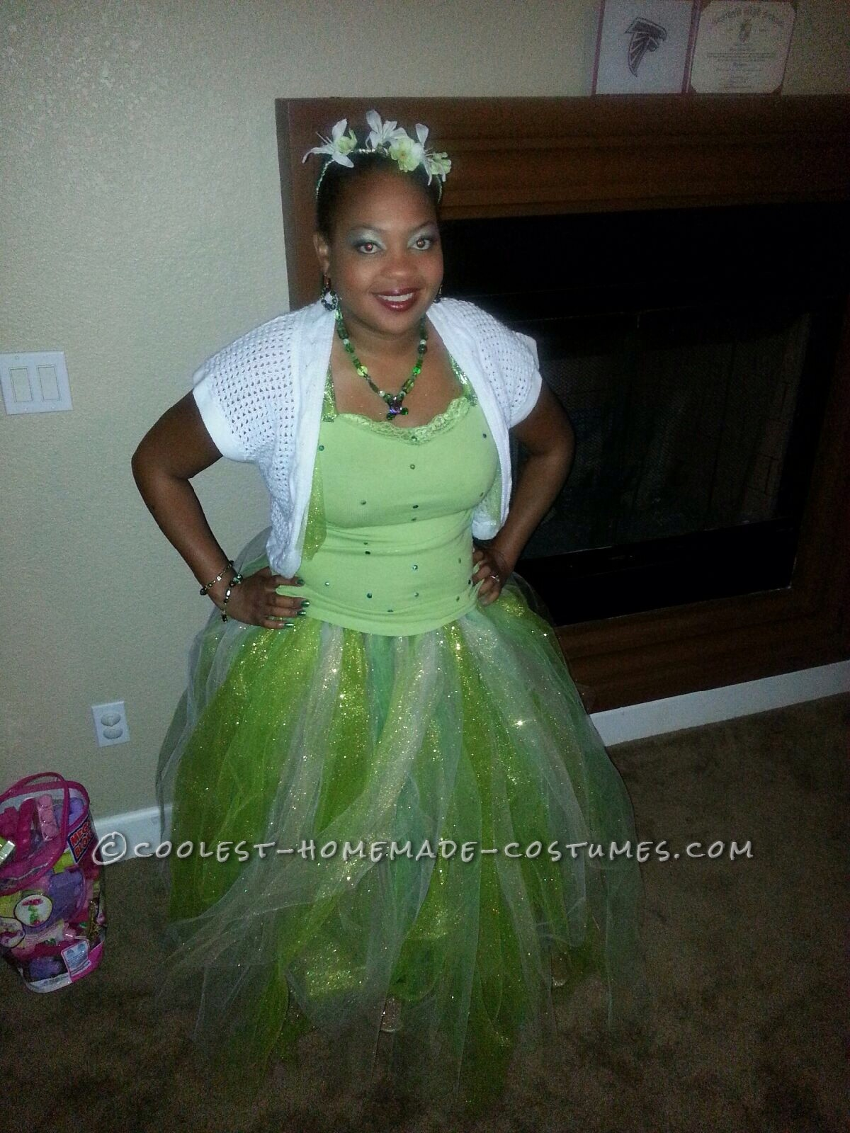 Cool Adult Princess Tiana Costume