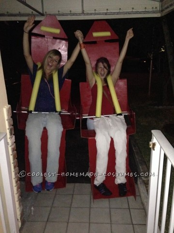 The Scream Machine Roller Coaster Costume