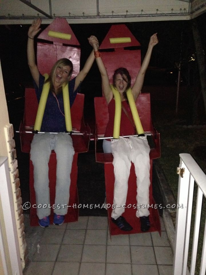 The Scream Machine Roller Coaster Costume