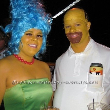 The Simpsons Couple Costume