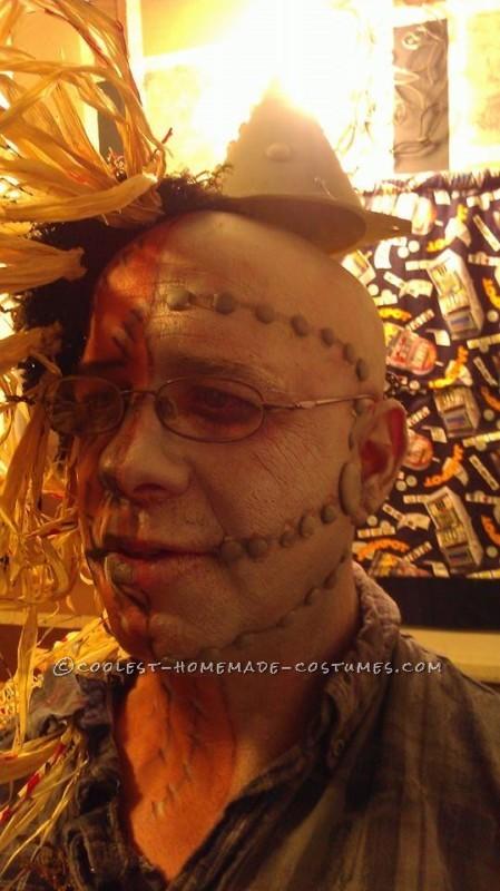 Half Tin Man Half Scarecrow Costume - 2