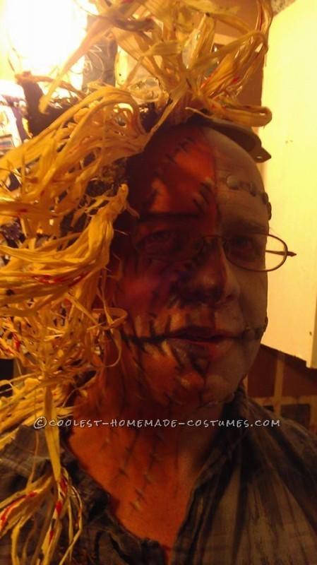 Half Tin Man Half Scarecrow Costume - 3