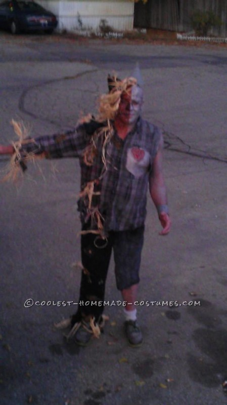 Half Tin Man Half Scarecrow Costume - 4