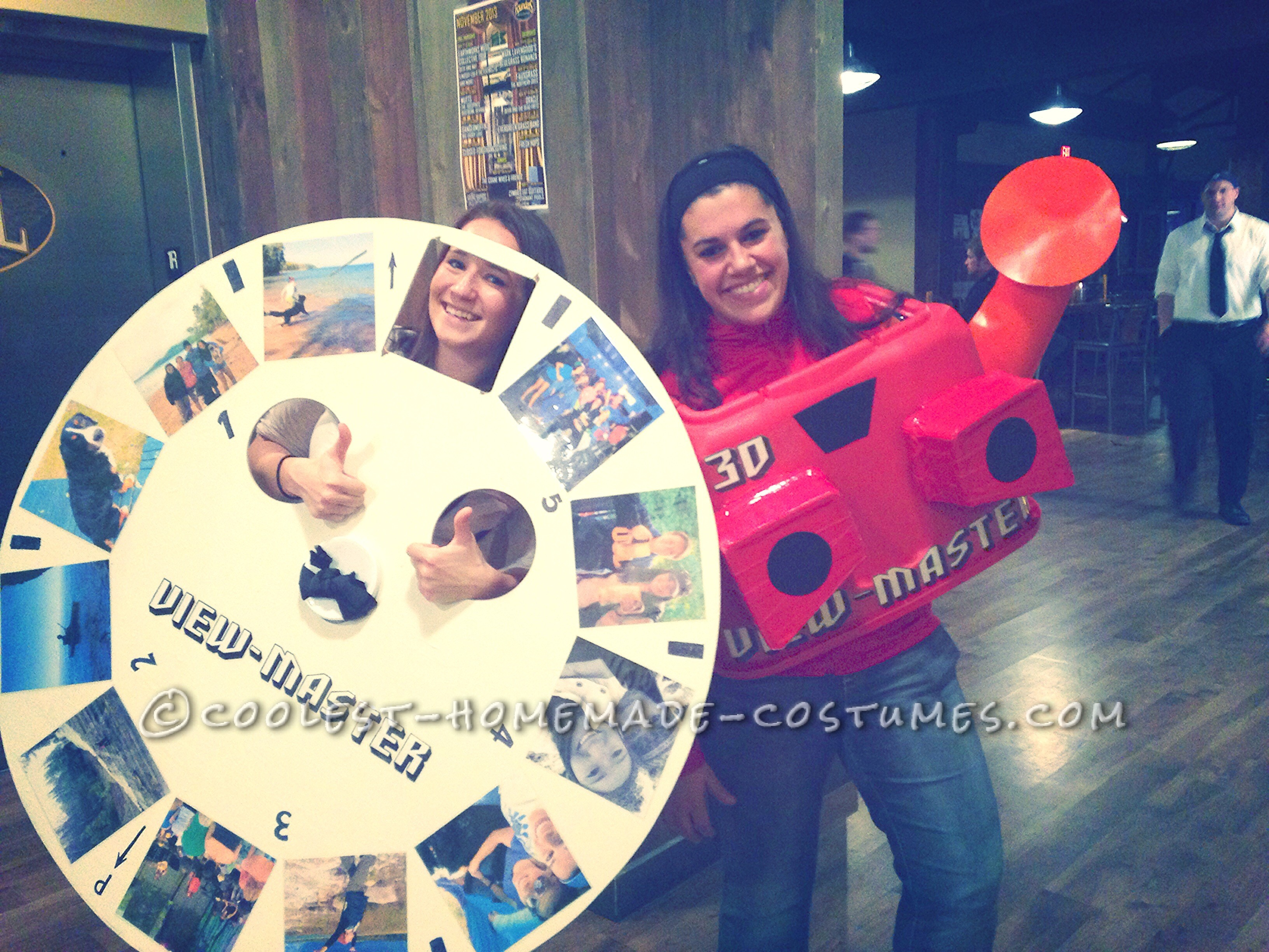 Awesome View-Master Couple Costume
