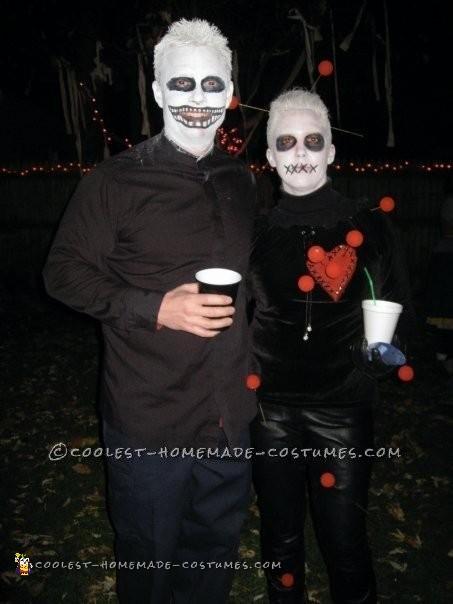 Last-Minute Voodoo Doll Halloween Costume