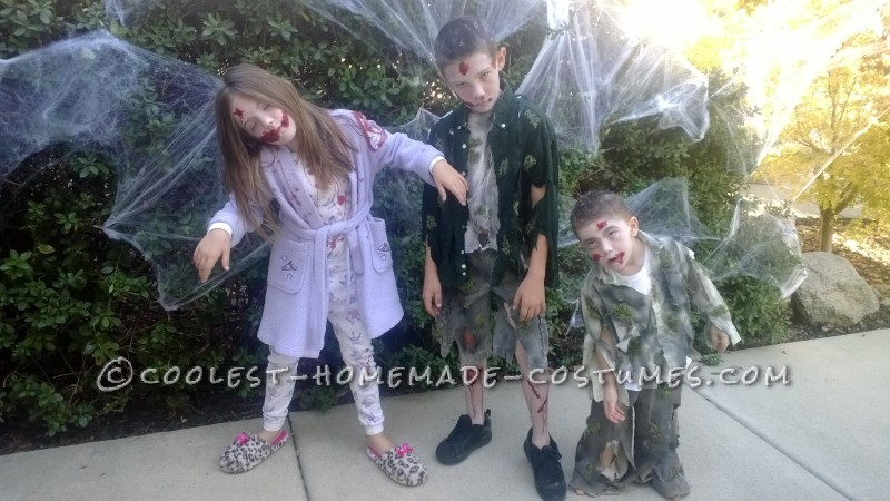 Zombie Kids Halloween Costumes