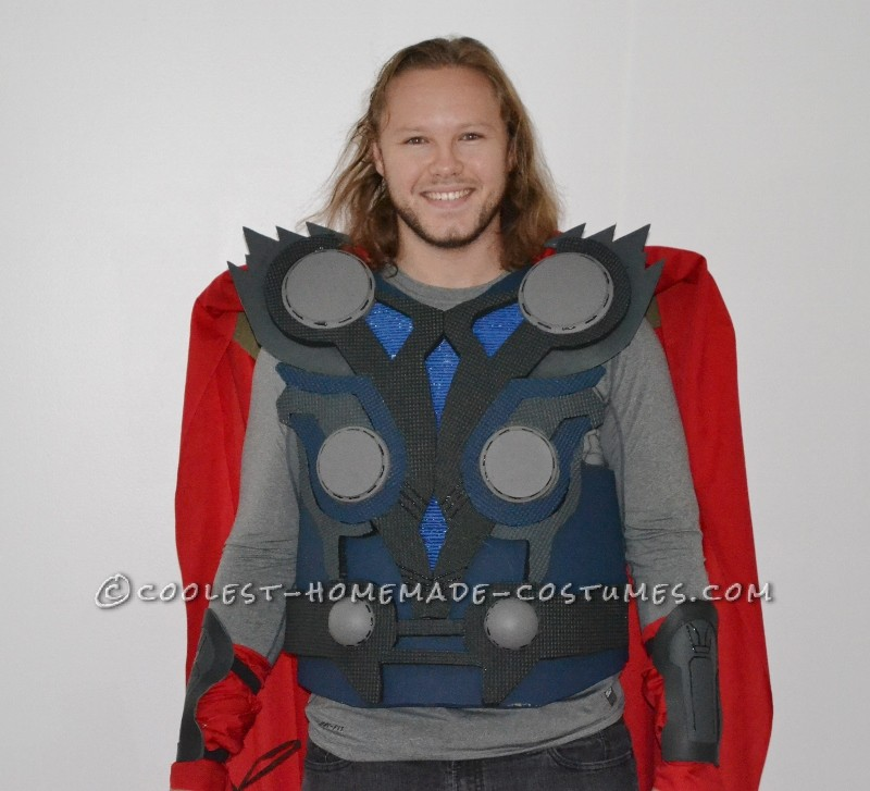 How to Make a Cool Halloween Costume: Thor the God of Thunder - 1