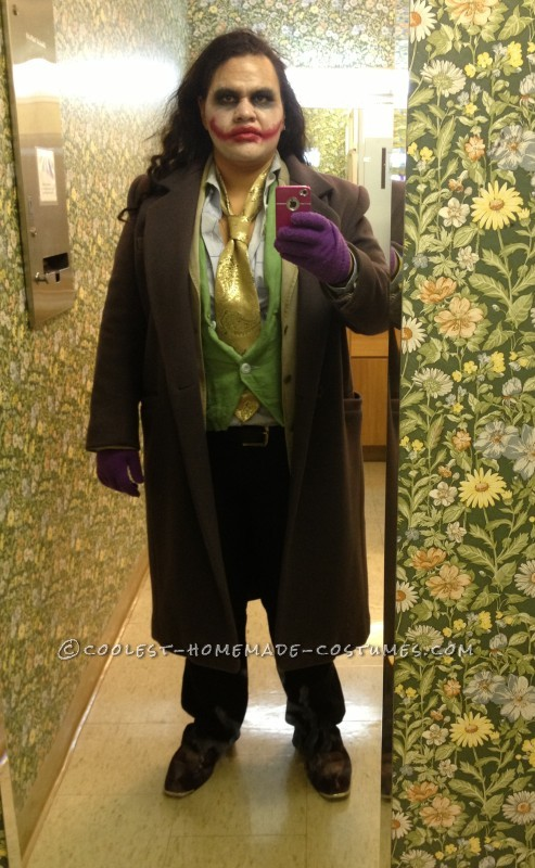 Cool Homemade Thrift Store Joker Costume
