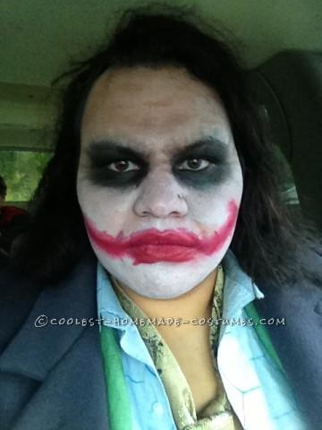 Cool Homemade Thrift Store Joker Costume