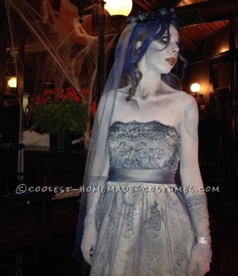 Cool Corpse Bride Homemade Halloween Costume - 1