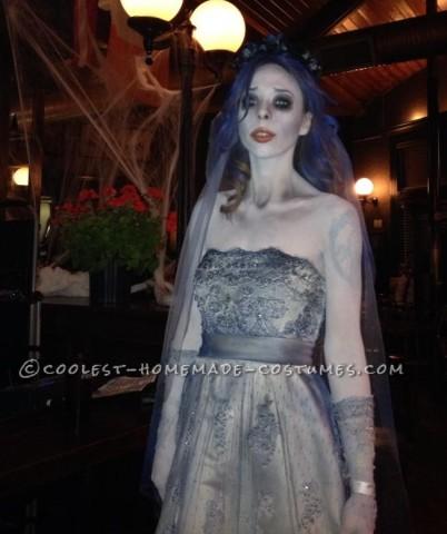 Cool Corpse Bride Homemade Halloween Costume