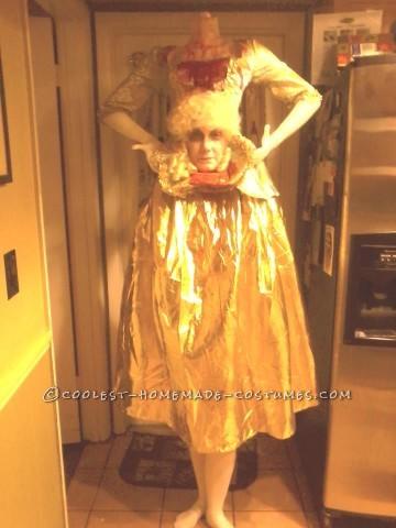 Prize-Winning Headless Marie Antoinette Costume