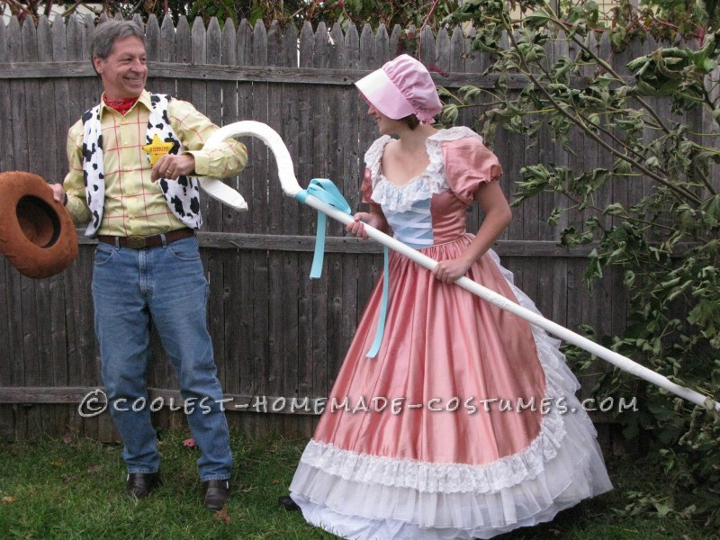 Cool Homemade Toy Story Family Costume - 3