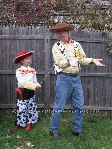 Cool Homemade Toy Story Family Costume