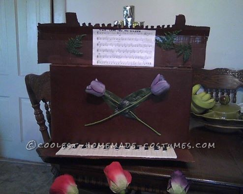 "Punny Halloween Couple Costume: ""Tulips on Your Organ"": This Tulips on your organ costume was great and simple to make. It got many laughs and comments,very fun to watch peoples expressions when they put i"