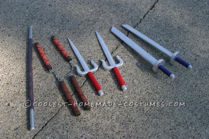 TNMT Weapons