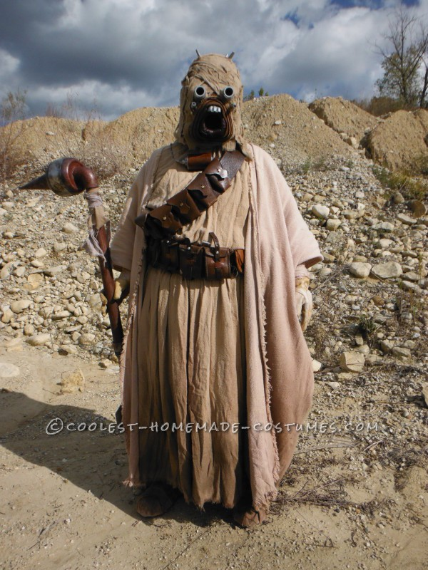 My completed Tusken Raider costume