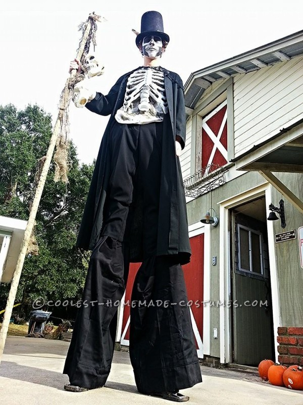 Awesome DIY Witch Doctor Halloween Costume