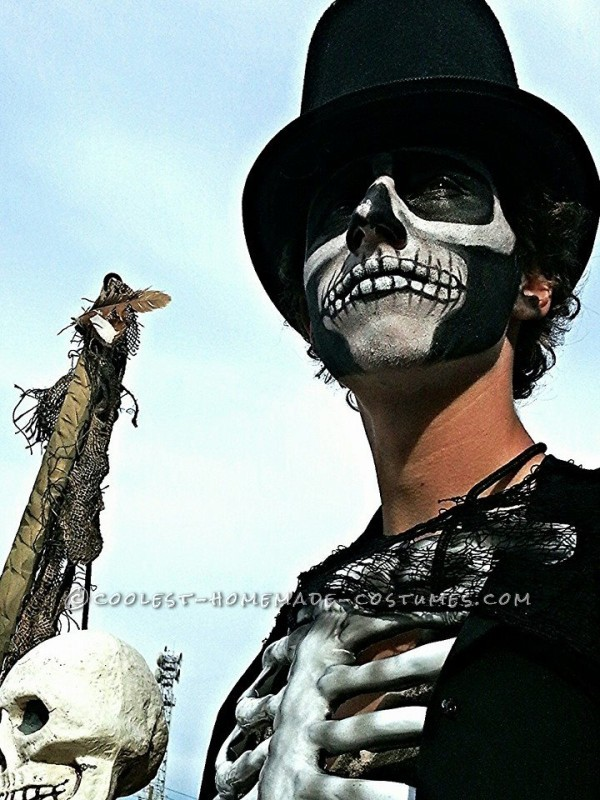 Awesome DIY Witch Doctor Halloween Costume - 1