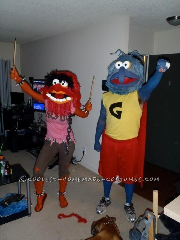 Ultimate Animal and Gonzo Muppets Costumes