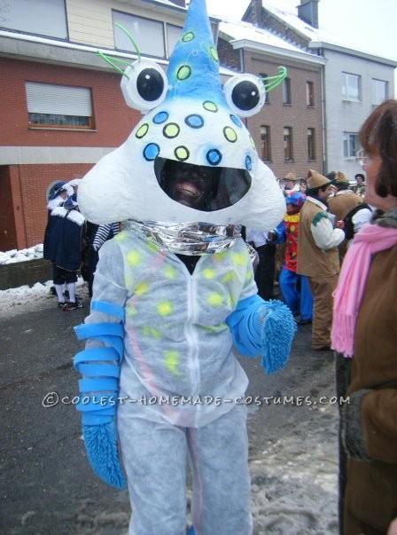 Palim Palim Fantasy Head Paper Mache Costume