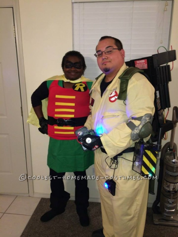 Robin meets Ghostbusters