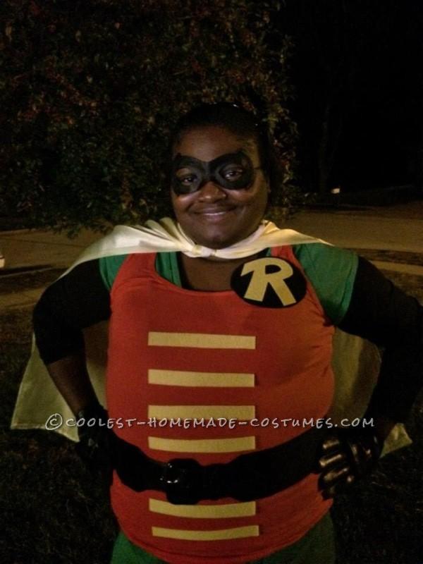 Homemade Vintage Robin Costume