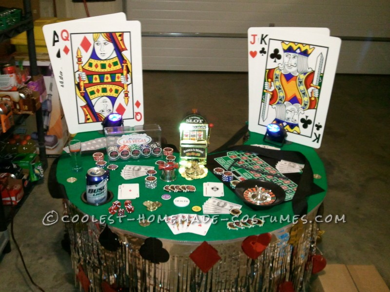 Viva Las Vegas Casino Dealer Costume - 1