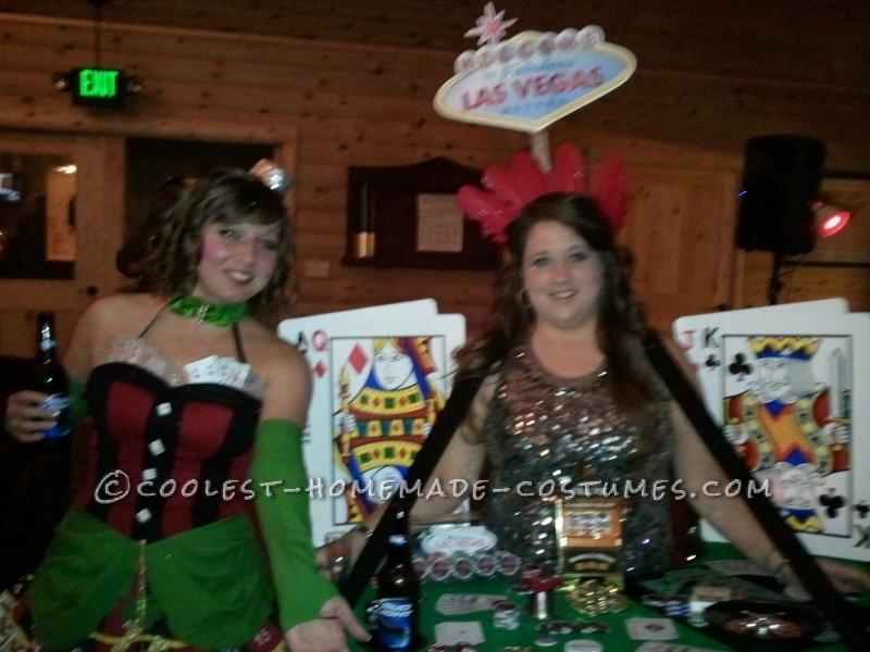 Viva Las Vegas Casino Dealer Costume - 2