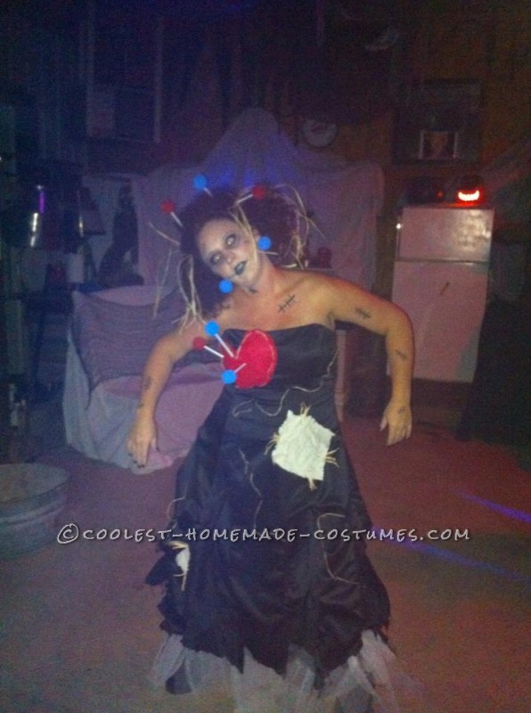 Voodoo Doll and Witch Doctor Couple Halloween Costume - 2