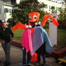 Original Sky Dancer Costume Idea: Wacky Waving Inflatable Arm Flaling Tube Man!